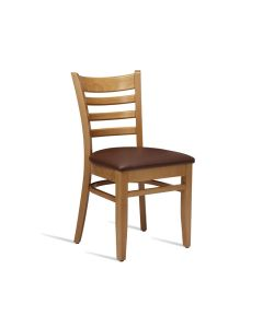 PLUS Side Chair – ZA.467C – Light Oak – Brown