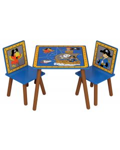 Kidsaw Pirate Table & Chairs