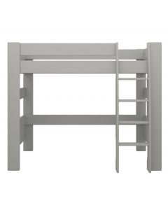 Steens For Kids Memphis Grey High Sleeper Kid's Bed