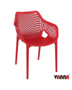 SPRING Arm Chair – ZA.220C – Red