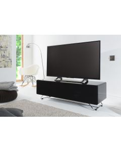 Alphason CRO2-1200CPT-BK Chromium Concept Black TV Stand