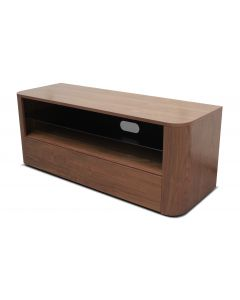 Alphason Hugo 1260 - Walnut TV Stand