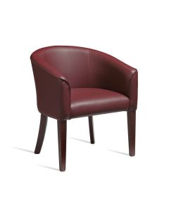 ARIA Tub Chair – ZA.520C – Wine Red