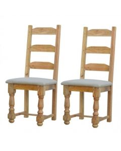 Granary Royale Dining Chair With Leather Seat Pad (Set of 2)