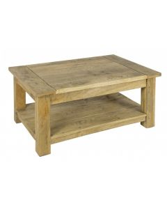 Granary Royale Coffee Table With Shelf