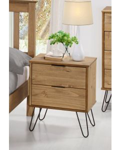 Core Products Augusta 2 Drawer Bedside Cabinet