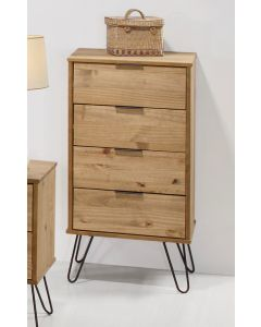 Core Products Augusta 4 Drawer Narrow Chest of Drawers