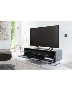 Alphason CRO2-1200CPT Chromium Concept Grey TV Stand