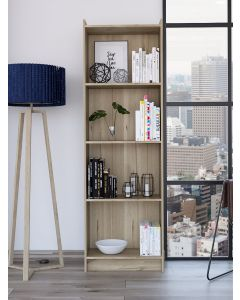 Core Products Brooklyn Tall Bookcase with 4 Shelves at Price Crash Furniture. Matching items available