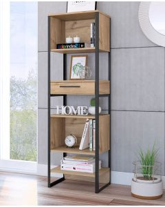Core Products Brooklyn 1 Drawer Tall Narrow Bookcase