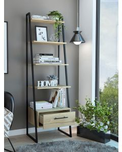 Core Products Brooklyn Ladder Bookcase with Drawer at Price Crash Furniture. Matching items available