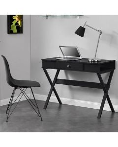 Black Paxton Desk by Dorel at Price Crash Furniture