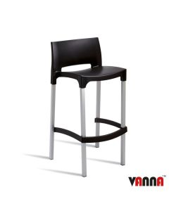 BUD Bar Stool – ZA.101ST – Black