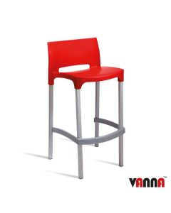 BUD Bar Stool – ZA.102ST – Red