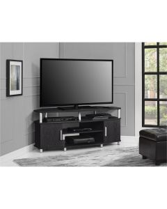 Carson 50 inch Corner TV Stand in Espresso by Dorel