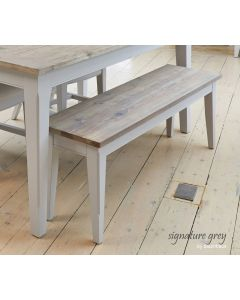 Baumhaus Signature Grey Dining Bench (130)
