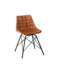 CHUCK Side Chair – ZA.525C – Bruciato