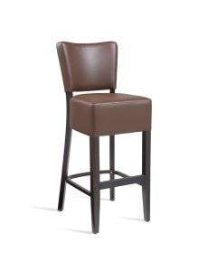 CLUB Bar Stool – ZA.391ST – Wenge – Brown