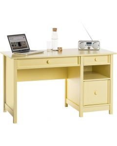Teknik Computer Desk Sherbet Yellow