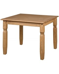Core Corona Pine Square 75 cm Dining Table