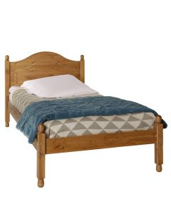 Copenhagen 3 ft Single Bed Frame Pine