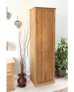 Baumhaus Mobel Oak Tall Shoe Cupboard - COR20E