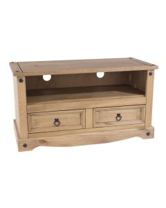 Core Corona Pine Flat Screen TV Cabinet