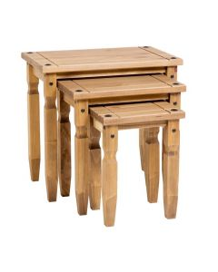 Core Corona Pine Nest of Tables