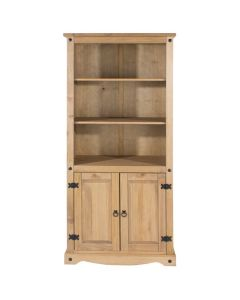 Core Corona Pine 2 Door Bookcase