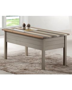 Core Products Corona Vintage Grey Wax Pine Coffee Table