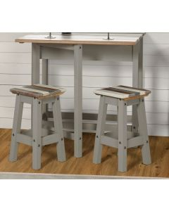 Core Products Corona Vintage Low Kitchen Stool
