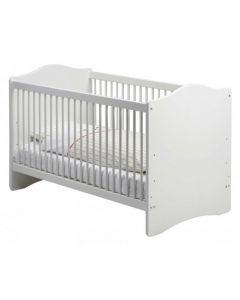 Steens For Kids Cot Bed In White