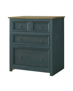 Core Products Corona Carbon Grey 2 + 2 Drawer Chest