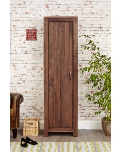 Baumhaus Mayan Walnut Tall Shoe Cupboard - CWC20E