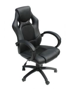 Alphason Black Daytona Racing Chair