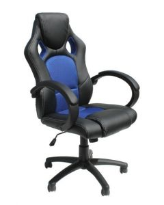 Alphason Blue Daytona Racing Chair