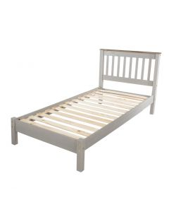 Core Products Corona Grey 3ft Low End Single Bed