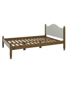 Steens Richmond Grey And Pine 4'6 Bed
