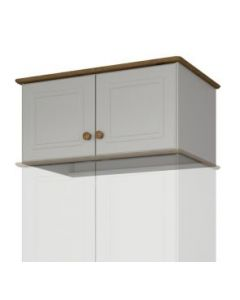 Steens Richmond Grey And Pine Double Top Box