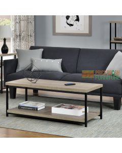Elmwood grey oak coffee table at Price Crash Furniture