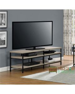 Elmwood distressed grey oak TV Stand at Price Crash Furniture