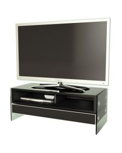 "Event TV Stand in Black Gloss For 47"" TVs by Alphason"