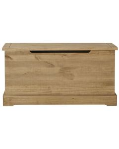 Fara Waxed Pine Storage Trunk