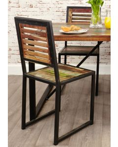 Baumhaus Urban Chic Dining Chair (Pack of two)