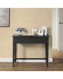 Franklin Computer Laptop and Writing Desk in Black by Dorel