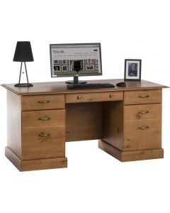 Teknik French Gardens Pine Study Desk