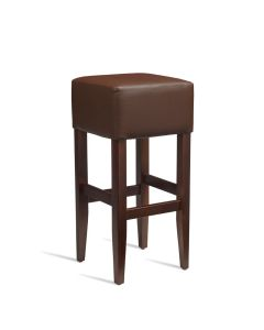 HEAT Bar Stool – ZA.234ST – Dark Walnut – Brown