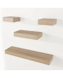 Core Products Hudson Foiled Oak Narrow Shelf Kit