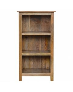 102cm Rustic Bookcase 3 Shelves
