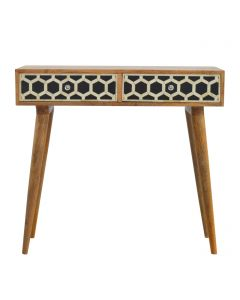 ArtHaus Collection Bone Inlay Console Table